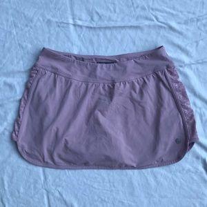 Lilac Tennis Skirt